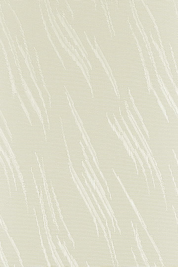 89mm Zara Cream Vertical Blind Fabric